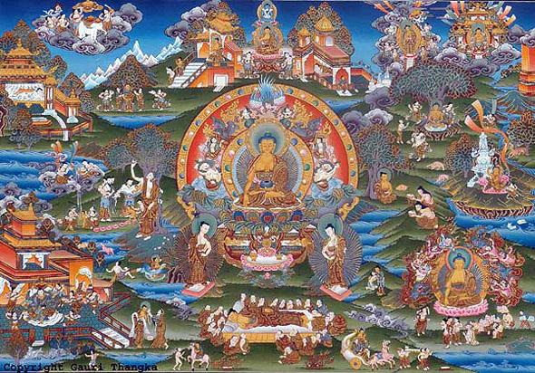 Life-Of-Buddha-Gauri-Thangka