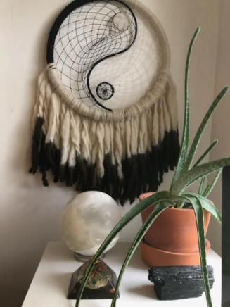 dreamcatcher selenite